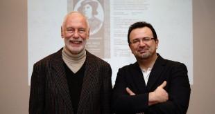 Dr. Thomas Ogger (li.) und Herr Kulturrat Seyed Ali Moujani