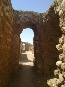 Chosrau (Khosrow) Palast in Qasr-e Schirin