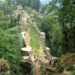 Die Rudkhan-Festung (sie liegt 25 km südwestlich der Stadt Foman)